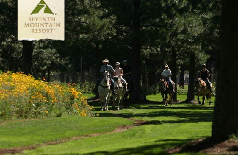 Horseback Riding at Seventh Mountain Resort