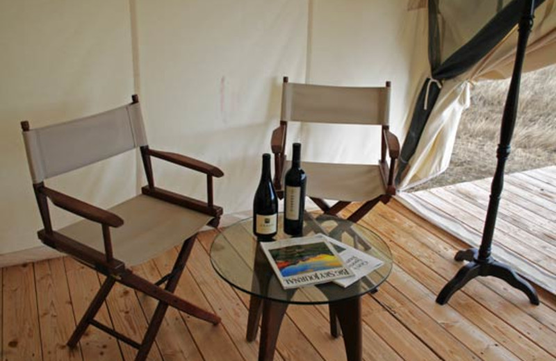 Amenities Available at Yellowstone Under Canvas