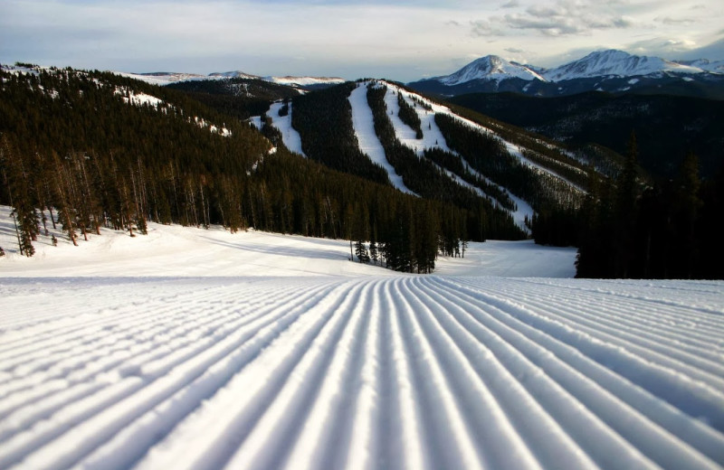 Ski slopes at SummitCove.