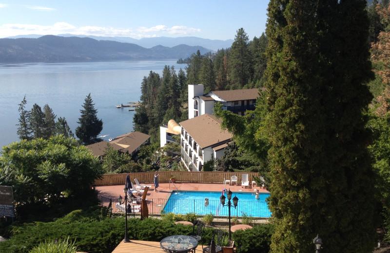 Exterior view of Lake Okanagan Resort