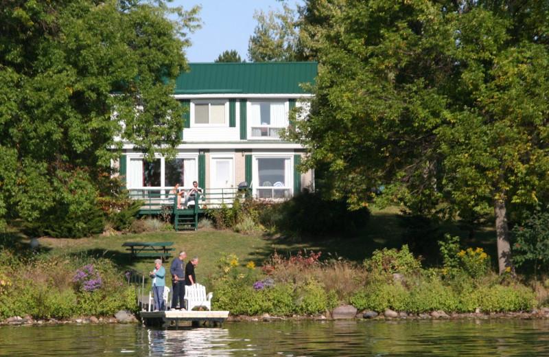 Exterior view of Elmhirst's Resort.