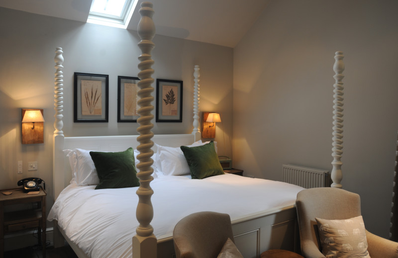 Guest room at Combe House.