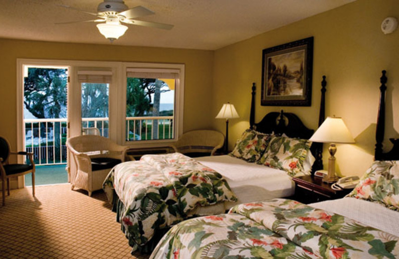 Two Queen Room at The Beachview Club.