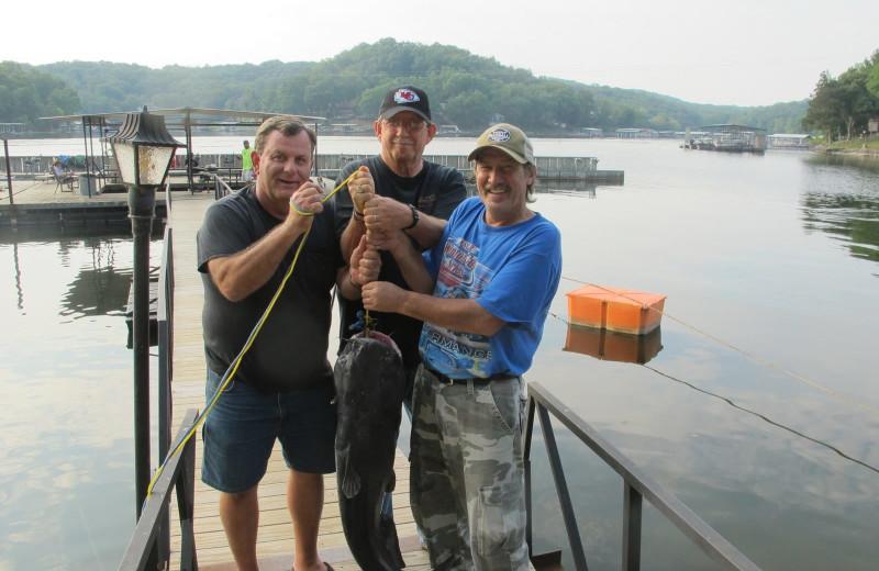 Fishing at Point Randall Resort.