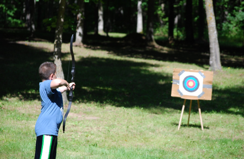 Archery at Geiger's Trails End.