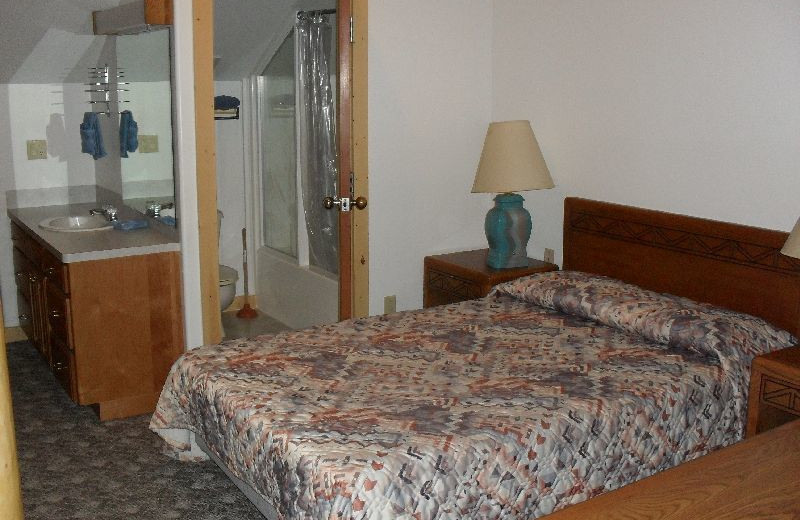 Guest room at Jared's Wild Rose Ranch Resort.
