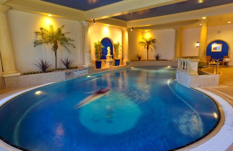 Indoor pool at Charingworth Manor.