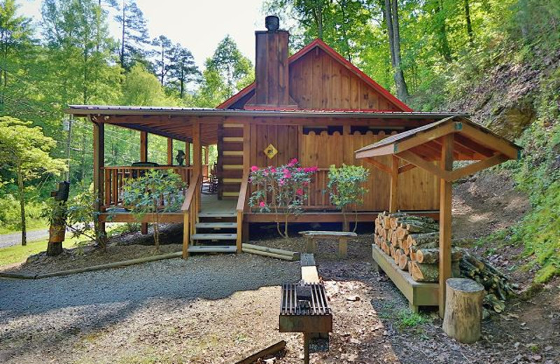 Cabin exterior at Eden Crest Vacation Rentals, Inc.