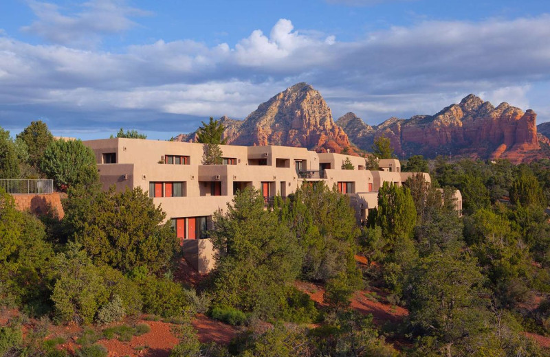 Exterior view of Best Western Plus Inn of Sedona.