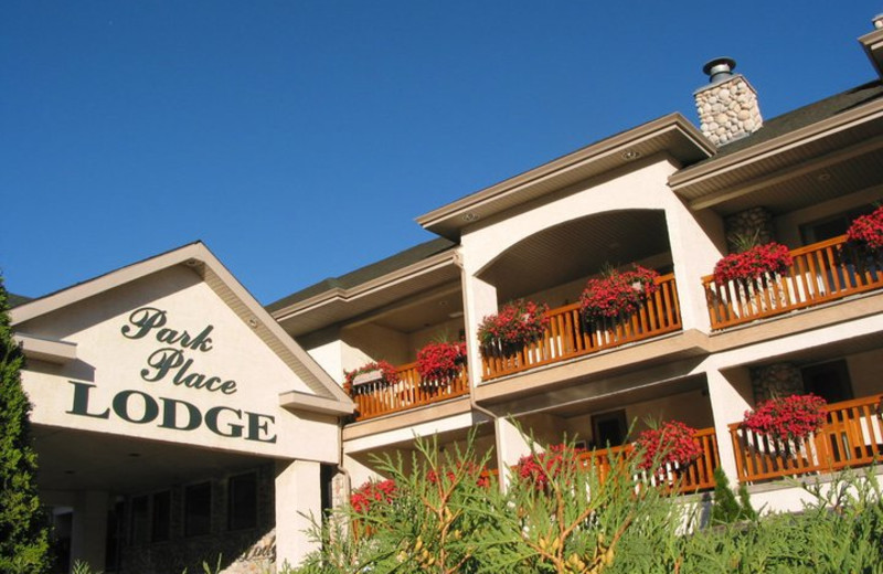 Exterior view of Park Place Lodge.