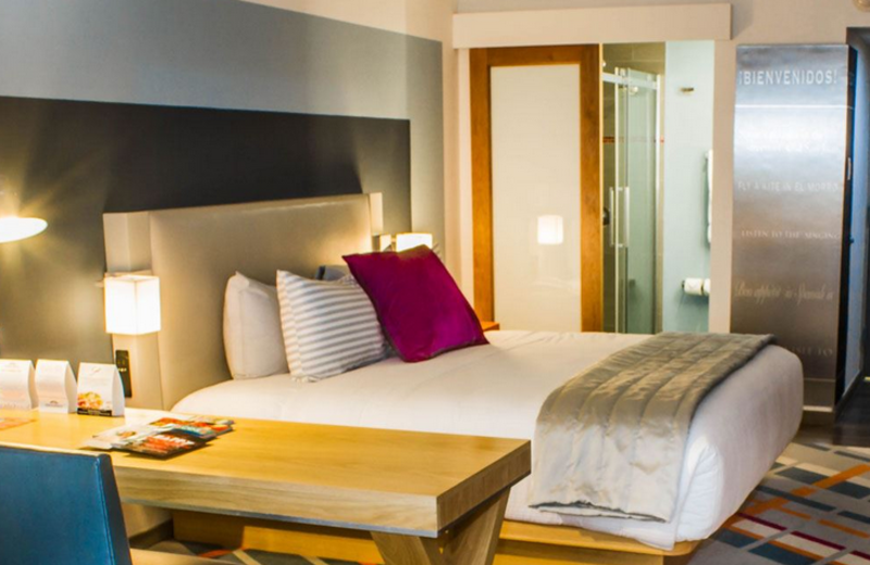 Guest room at TRYP by Wyndham Isla Verde.