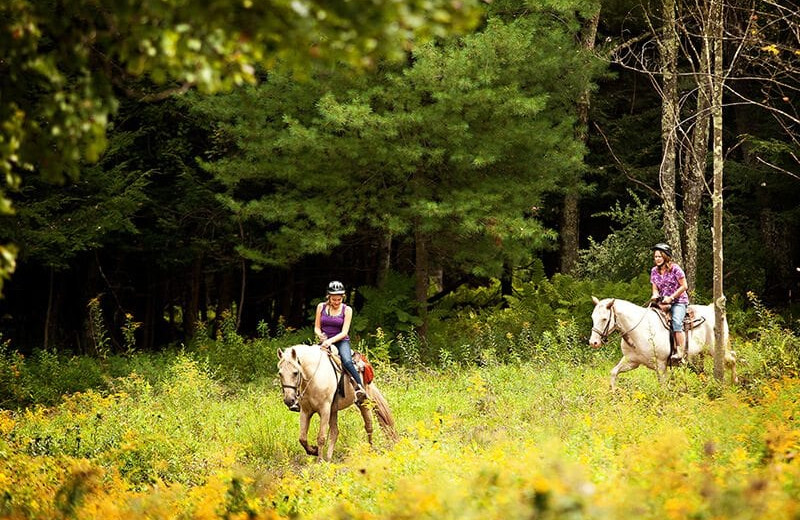 Horseback riding at Villa Roma Resort and Conference Center.