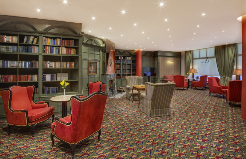 Lounge at Hotel Savoy.