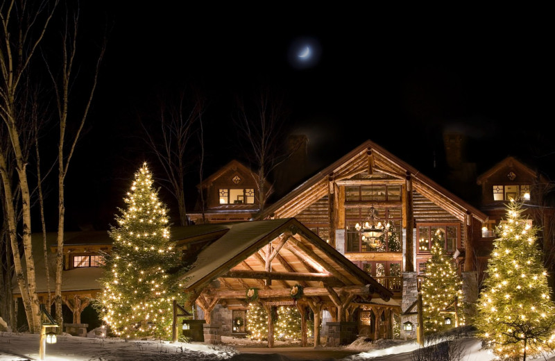 Christmas at The Whiteface Lodge.