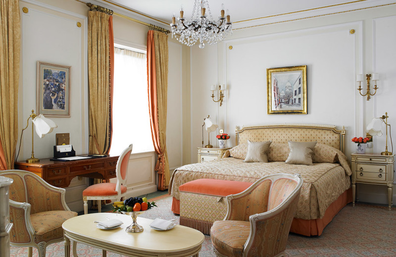 Guest room at The Ritz London.