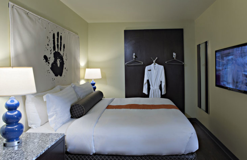 Guest Room at ACME Hotel Company in Chicago