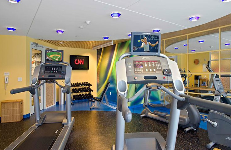 Fitness Center at Hotel Indigo Jacksonville Deerwood Park