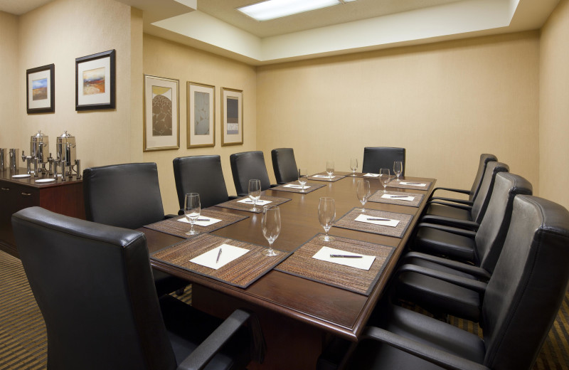 Meeting room at Sheraton San Jose Hotel.