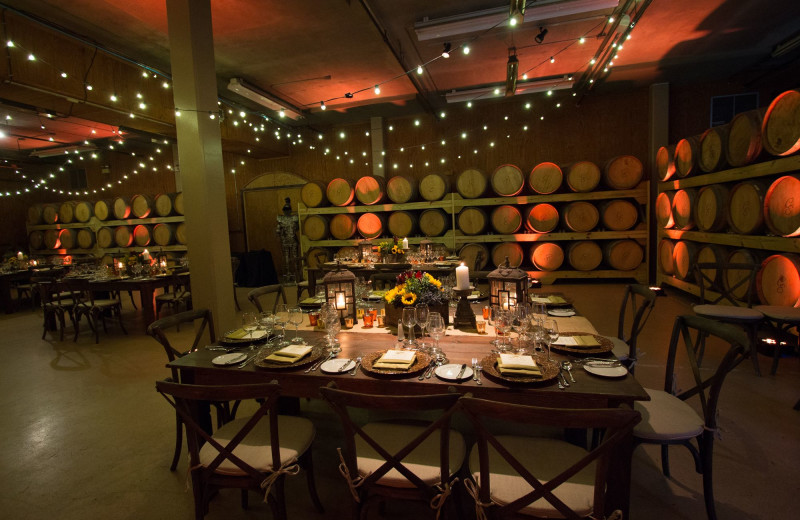 Dining at Chateau Elan Winery