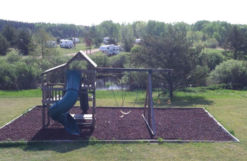 Playground at Black Lantern Resort and Retreat.