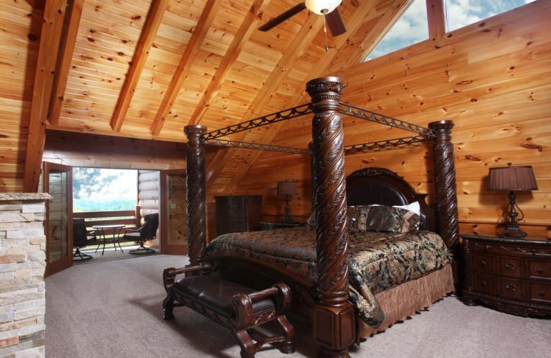 Rental bedroom at Eden Crest Vacation Rentals, Inc.