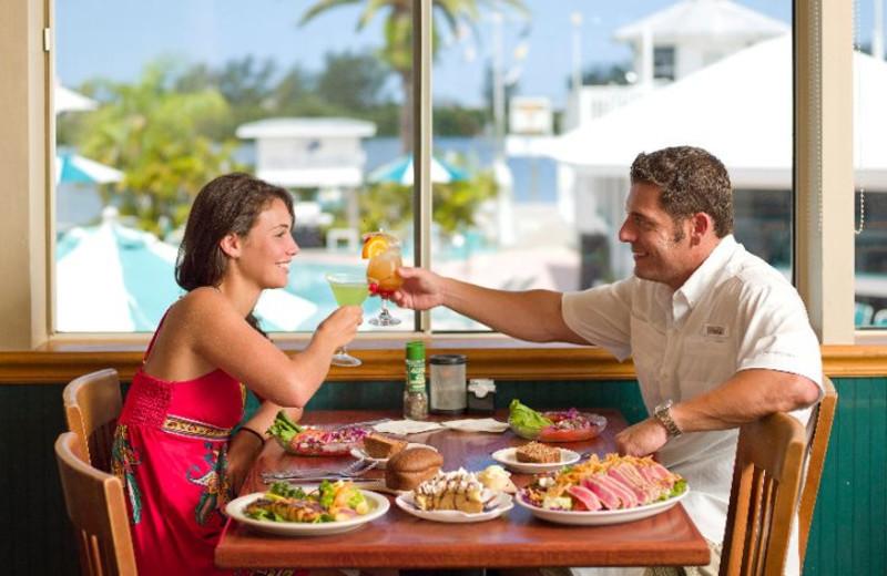 Dining at Palm Island Resort.