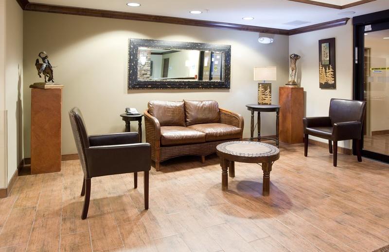 Lobby at Holiday Inn Express & Suites Lander.