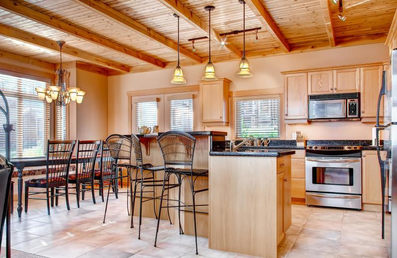 Luxury Kitchen at RentChalets