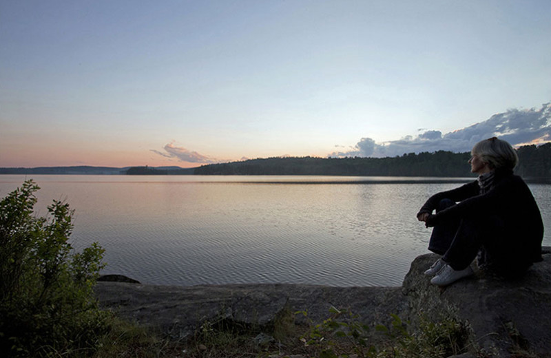 Beautiful lake views at Killarney Lodge.