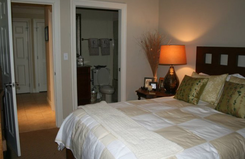 Guest room at Emerald Grande.