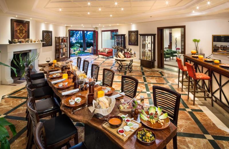 Dining at Kempinski Resort Hotel Estepona.