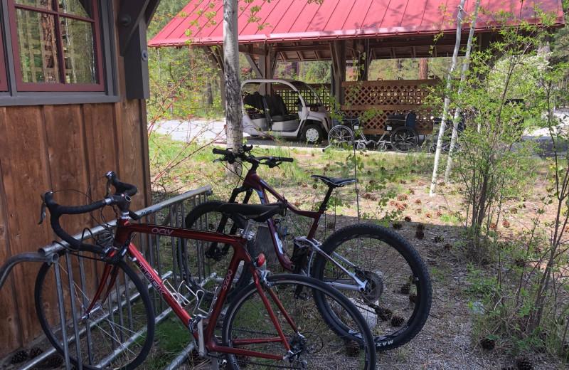 Bikes at Sleeping Lady.