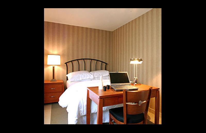 Guest room at 7 Springs Inn & Suites.