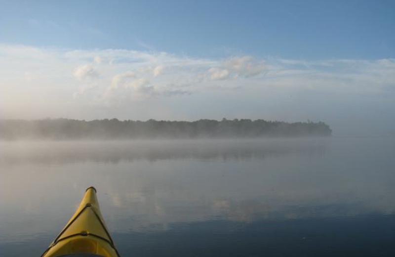 Lake view at Radtke's Sabinois Point Resort.