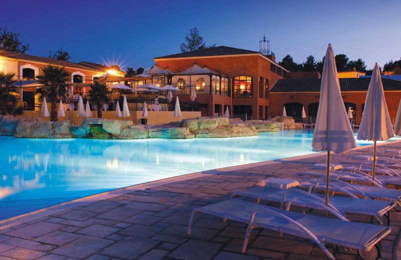 Outdoor pool at Domaine de Fayence.