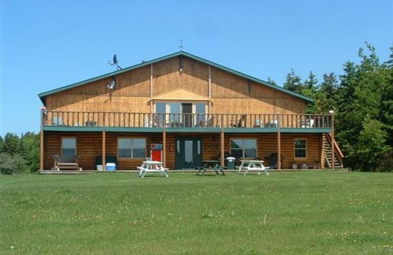 Exterior view of Wild Goose Lodge.