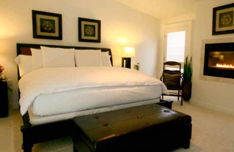 Guest Bedroom at Green Valley Spa