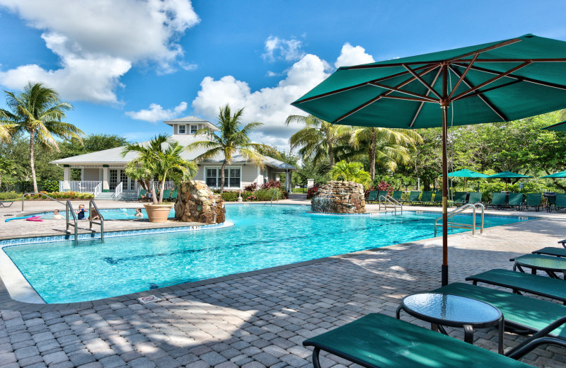 Rental pool at Naples Florida Vacation Homes.