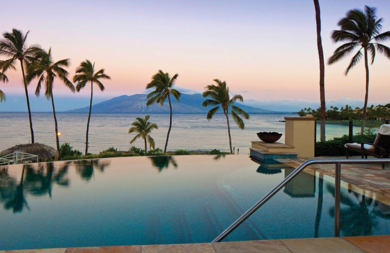 Outdoor pool at Four Seasons Resort - Maui at Wailea.