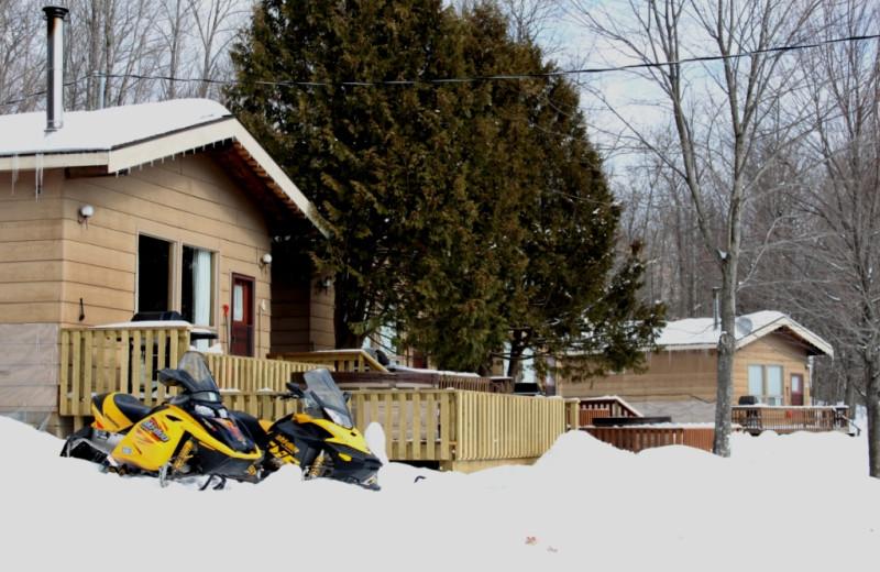 Winter at Sandy Lane Resort.