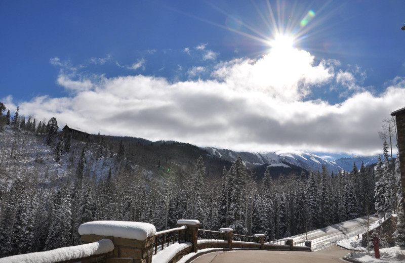 Winter time at SilverStar Luxury Properties.