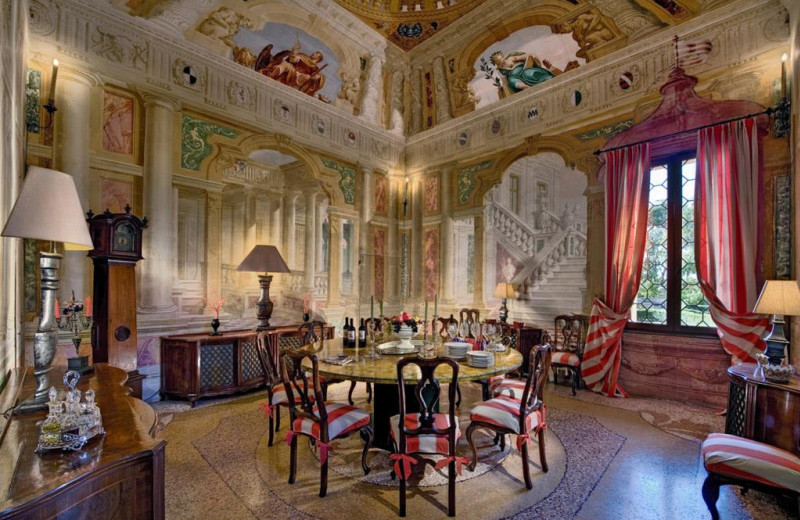 Castle dining room at Lauren Berger Collection.