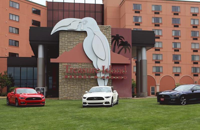 Exterior view of Treasure Island Resort & Casino.