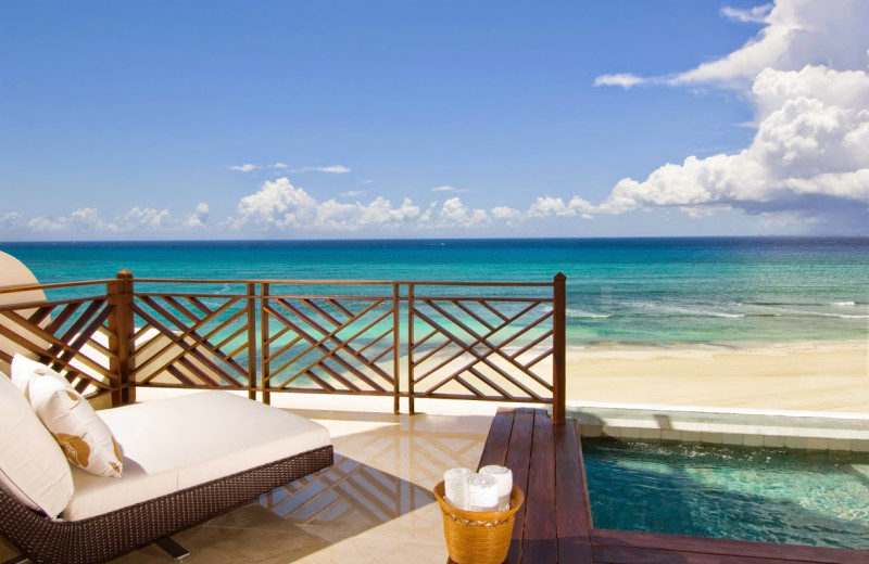 The beach at Grand Velas All Suites and Spa Resort - Riviera Maya.