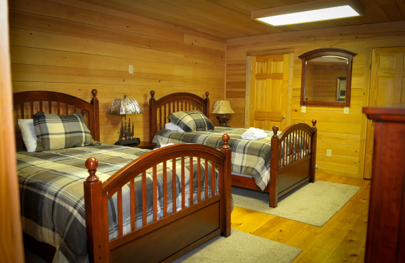 Bunk house guest room at Buckhead Ranch.