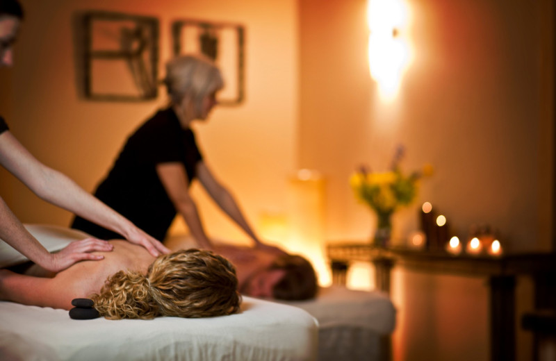 Couples massage at Bluefin Bay on Lake Superior.