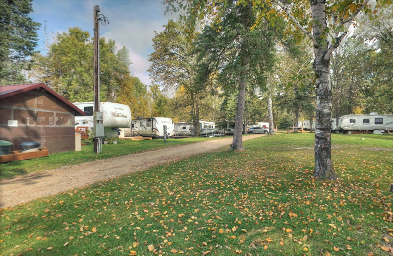 Campground at Whaley's Resort & Campground.
