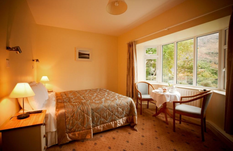 Guest room at Gougane Barra Hotel.