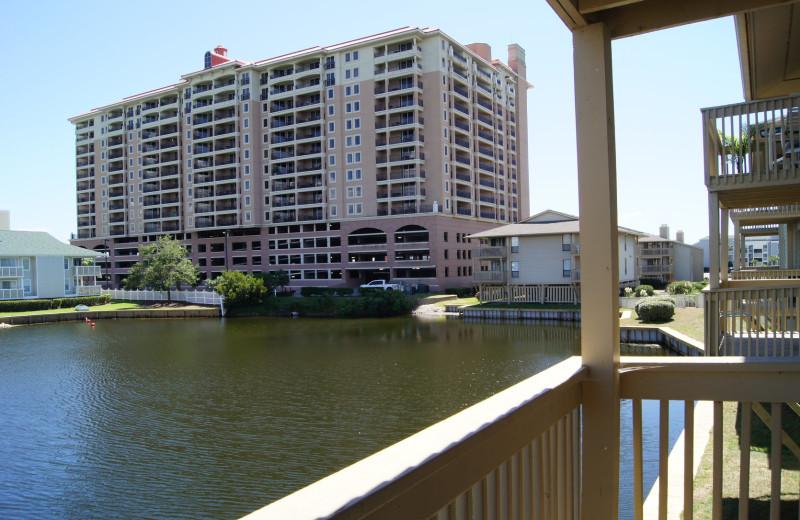 Rental balcony at McMillan Real Estate.