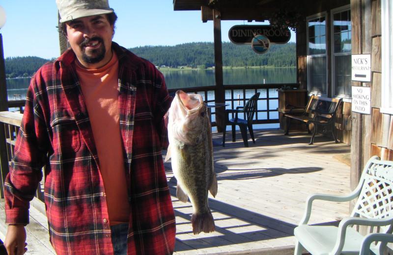 Fishing at Silver Beach Resort.